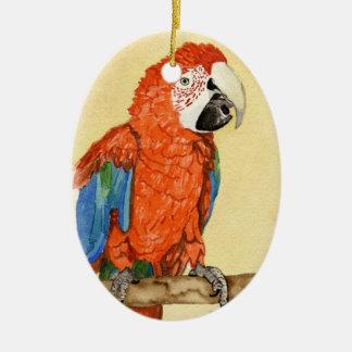 Viejo rojo ornamento para arbol de navidad