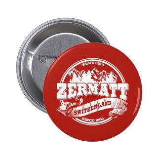 Viejo rojo del círculo de Zermatt Pins