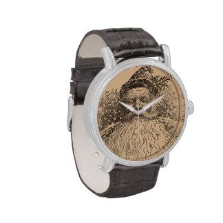 Viejo santo Nick del vintage Relojes De Mano