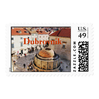 Viejo sello de la ciudad de Dubrovnik Croacia
