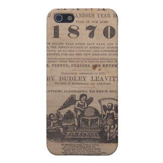Viejo siglo XIX del almanaque de los granjeros iPhone 5 Carcasa
