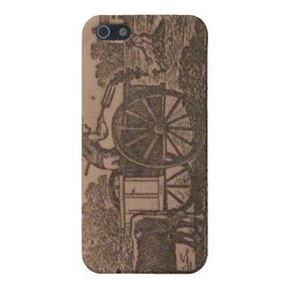 Viejo siglo XIX del almanaque de los granjeros iPhone 5 Carcasas