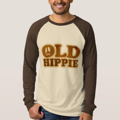 Viejo signo de la paz del Hippie Playeras