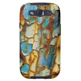 Viejo taller de pintura del moho oxidado fresco de galaxy s3 fundas