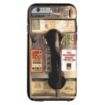 Viejo teléfono de pago