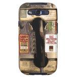 Viejo teléfono de pago galaxy SIII cárcasas