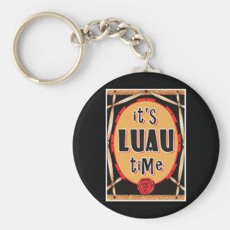 Viejo tiempo de Luau de la rota Llavero Personalizado