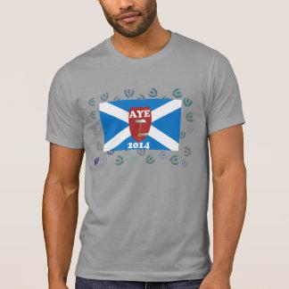 Viejo trabajo del escocés para la camiseta de la i