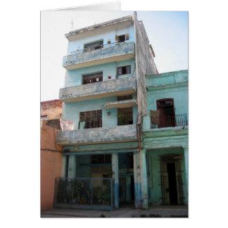 viejo verde de La Habana Tarjeta De Felicitación