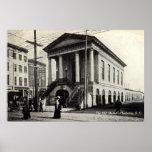 Viejo vintage 1910 del SC de Charleston del Impresiones