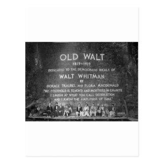 Viejo Walt Postales