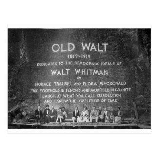 Viejo Walt Tarjetas Postales