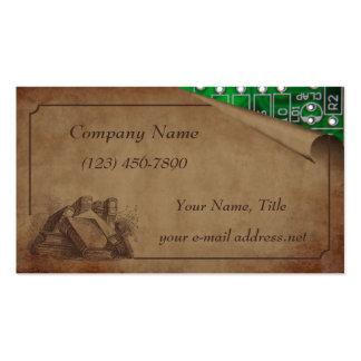 Viejo y nuevo plantilla de tarjeta personal