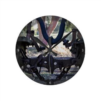 Viejos almacenadores intermediarios del Railcar Reloj