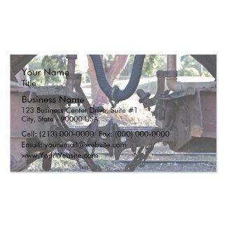 Viejos almacenadores intermediarios del Railcar Tarjetas De Visita