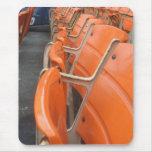 Viejos asientos del Shea Stadium Alfombrilla De Ratón