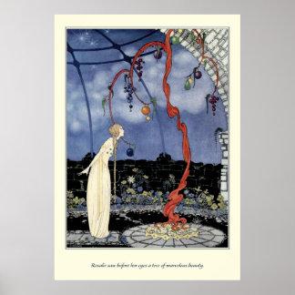 Viejos cuentos de hadas franceses: Un árbol de la  Posters