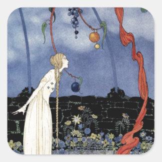 Viejos cuentos de hadas franceses: Un árbol de la Pegatina Cuadrada