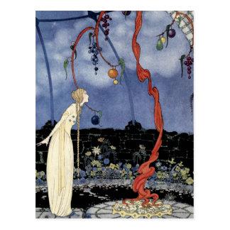 Viejos cuentos de hadas franceses: Un árbol de la Tarjeta Postal