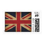 Viejos franqueo/sello de Union Jack