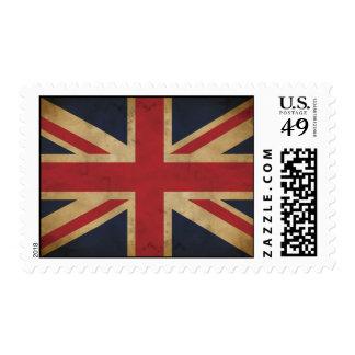 Viejos franqueo/sello de Union Jack Sellos Postales