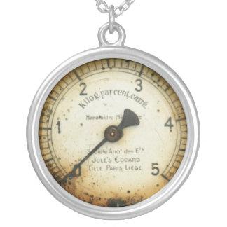viejos indicador/instrumento/dial/metro de la pres colgante redondo