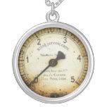 viejos indicador/instrumento/dial/metro de la pres pendientes