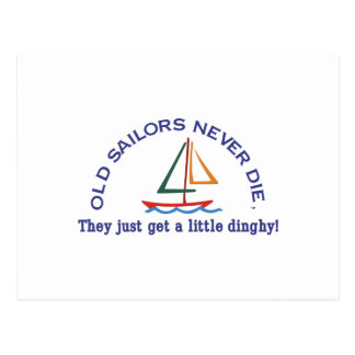 Viejos marineros postal