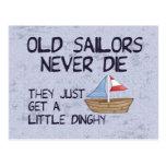 Viejos marineros tarjeta postal