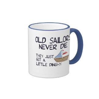 Viejos marineros taza a dos colores