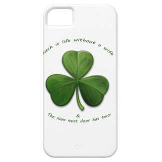 Viejos refranes irlandeses iPhone 5 funda