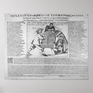 Viejos refranes y predicciones posters