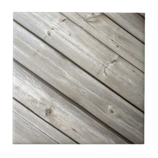 Viejos tableros de madera azulejo cuadrado pequeño