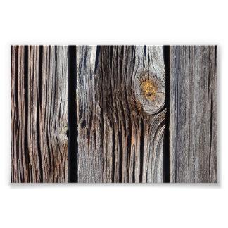 Viejos tableros de madera grises arte fotografico
