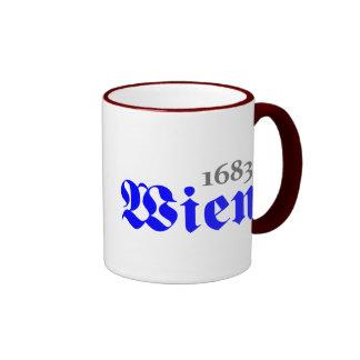 Viena 1683 taza de dos colores