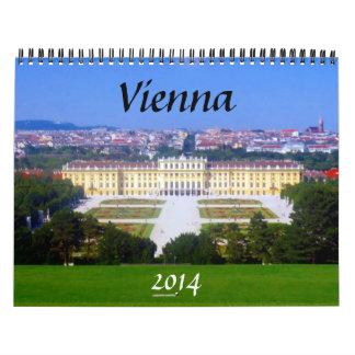 Viena Austria 2014 Calendario De Pared