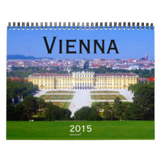 Viena Austria 2015 Calendario