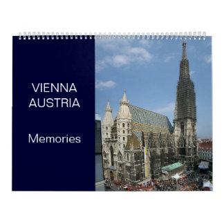 Viena Austria 24 calendarios del mes
