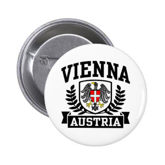 Viena Austria Pin Redondo De 2 Pulgadas