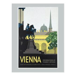 Viena Austria - viaje del vintage Postal