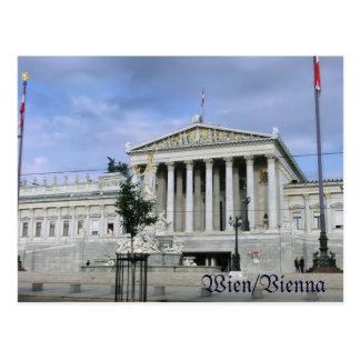 Viena, el parlamento tarjetas postales