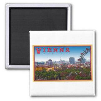 Viena - paisaje urbano iman para frigorífico