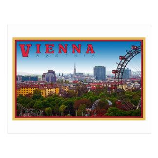 Viena - paisaje urbano tarjetas postales