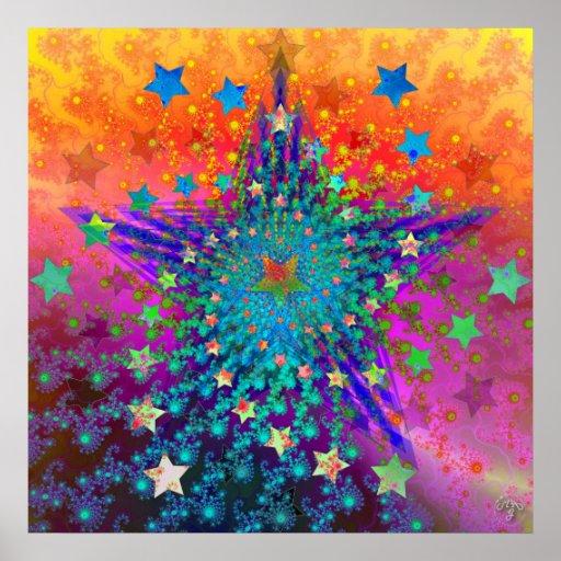 Viendo las estrellas II Póster
