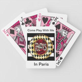 Viene el juego conmigo en París, baraja alterada d