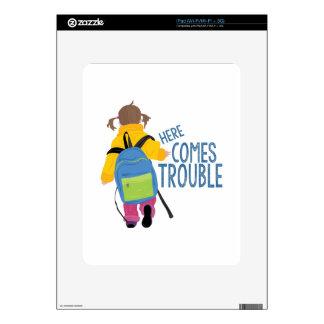 Viene el problema skins para iPad