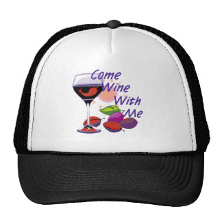 Viene el vino conmigo gorro