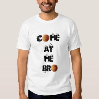 """Viene en mí la camiseta micro de la fibra de Bro"" Playeras"