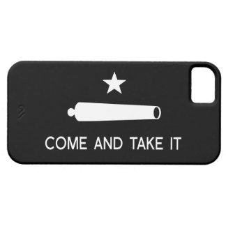 Viene tomarle la bandera iPhone 5 Case-Mate cobertura