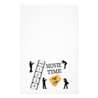 Viene uno viene todos lo que es tiempo de película papelería de diseño